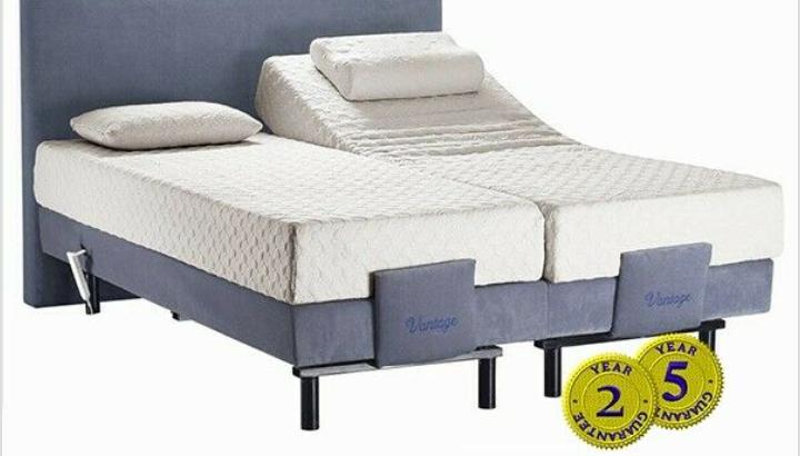 Orthopedic adjustable bed