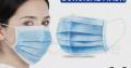 Disposabale 3PLY Face Masks – EN ISO13485 2016 Cer