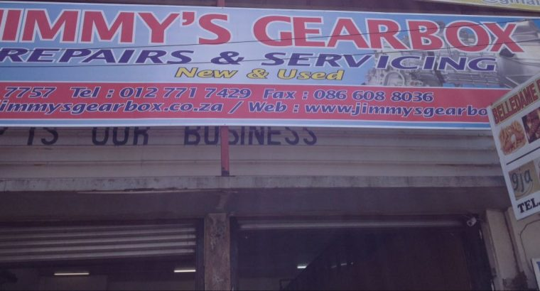 JIMMY'S GEARBOX