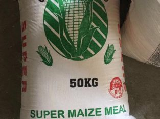 white/yellow maize meal