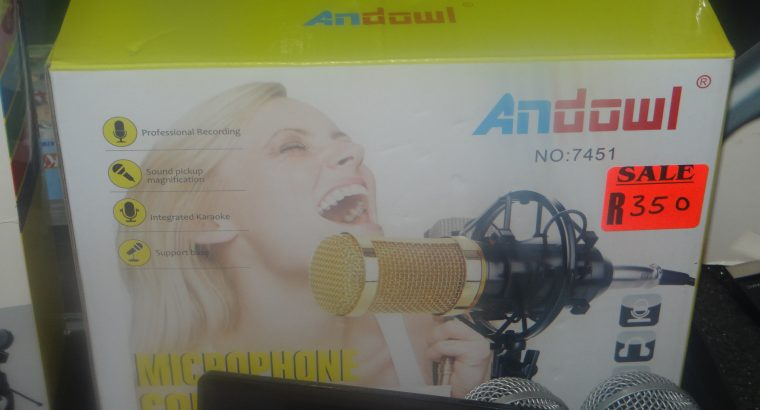 ANDOWL CONDENSOR MICROPHONE SALE