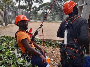 Working at Heights training Cape town, fall arrest