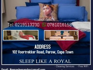 We offer the best accommodation ,try us.