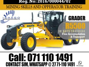grader training skills at rustenburg 0711101491