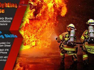 fire fighter machine training skills at rustenburg