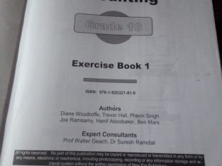 New Era Accounting grade 10 workbook 1