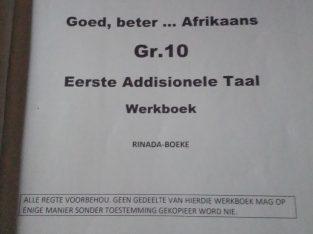 Goed, beter Afrikaans grade 10 Eerste Addisionele
