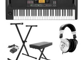 Korg EK-50 Entertainer Keyboard Bundle