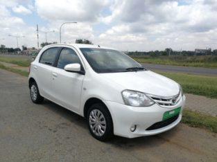 2013 Toyota Etios 1.5 Xs 5dr