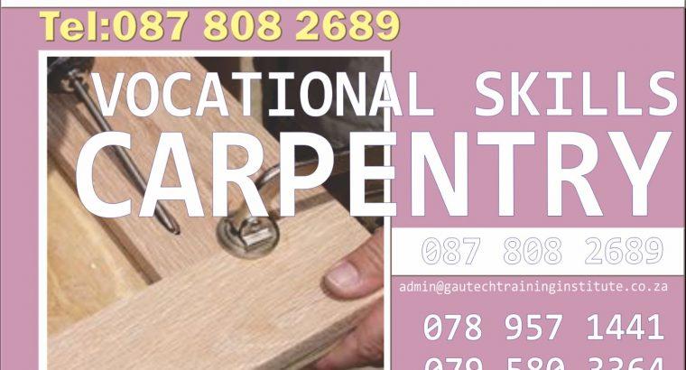 Carpentry Course at Gautech