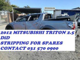 2012 Mitsubishi Triton DiD 2.5