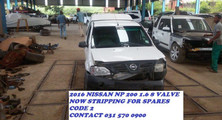 2016 Nissan NP 200 1.6 8 Valve