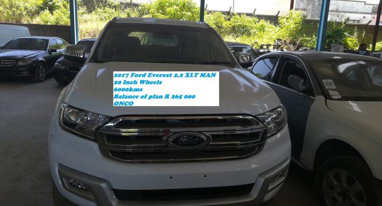 2017 Ford Everest 2.2 Man