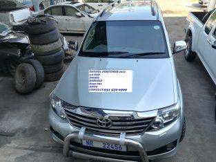 2012 Toyota Fortuner 3.0