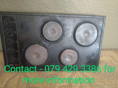 Selling Used GEMINI DEFY Stove with Switches.