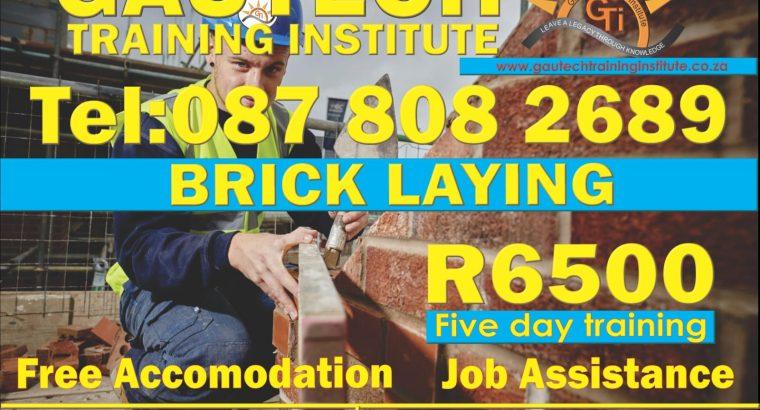 Bricklaying Skills at Gautech
