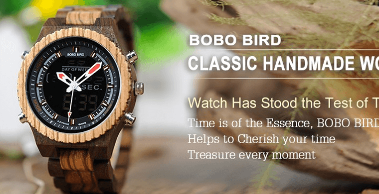 Wooden Watches for Men and Women