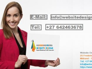 R1650 for Website Designing in Johannesburg