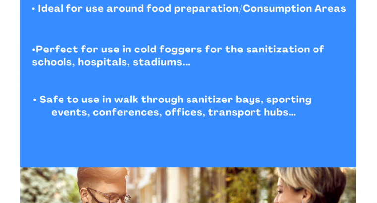 ALL IN ONE SANITIZER AND DISINFECTANT