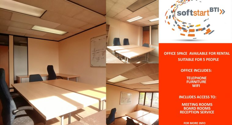 Private Office Space Available