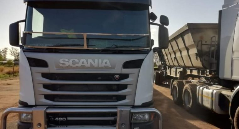 34 ton side tipper trucks for rental