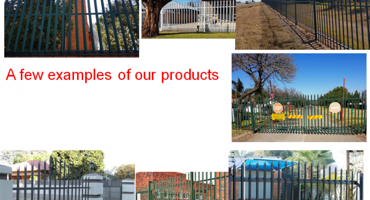 PALISADE FENCING, GATES AND PAINTS MANUFACTURERS