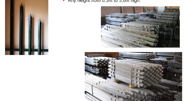 Steel Palisade Fencing, Gates, Paint Manufacturers