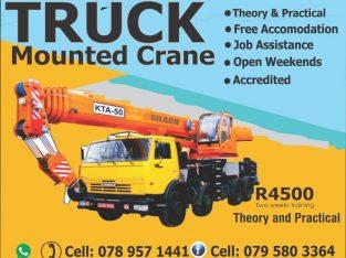 Truck Mounted Crane in Pretoria