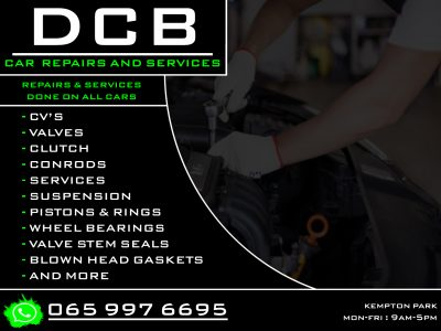 DCB Car repairs and services